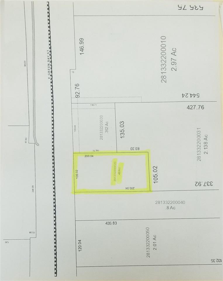 1444 E GREEN BAY STREET STREET, SHAWANO, WI 54166
