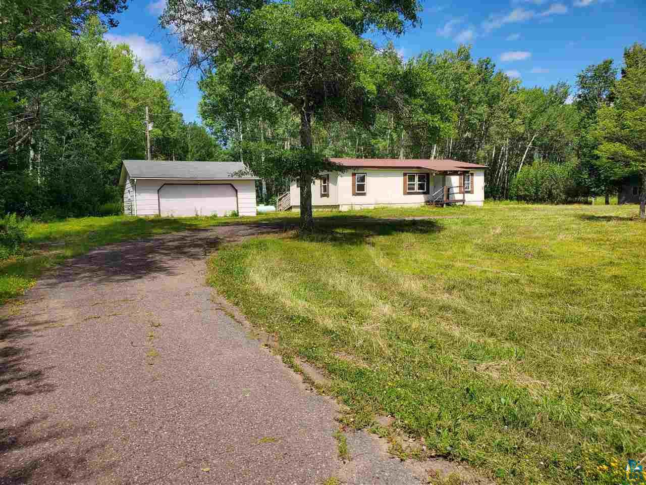 Three bed, two bath, two car garage home on a nice sized lot of five +/- acres. Formerly the Trails End you'll enjoy main level living with a deck off the back for relaxing. The master bedroom has an en suite full bath and walk-in closet. The front bedroom could also be used as an office and has some nice built-ins. Located in Mason and approximately fifteen minutes to Ashland and the beaches of Lake Superior.