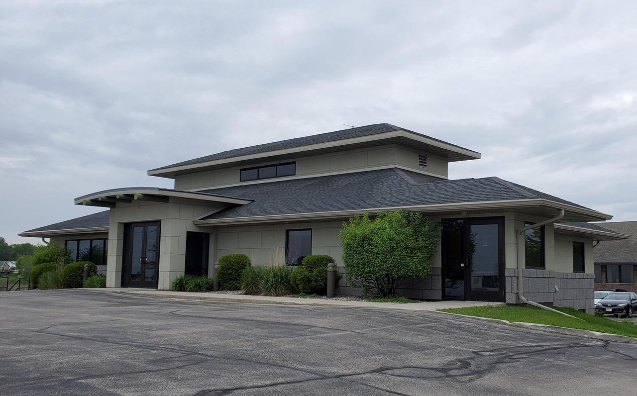 For lease 1,256 sq ft office space on the lower level with direct access to the space with ample asphalt parking. Build out as needed is negotiable per tenant need. Lease - Plus CAM charge.