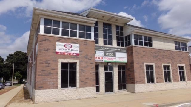 Office suite for LEASE!  Approximately 3867 Square feet available in the modern 3 story office building on the corner of 85th and Capitol Drive.  Office furniture and fixtures currently in the space are included in the lease.  Was a medical practice.  Lease is triple net.