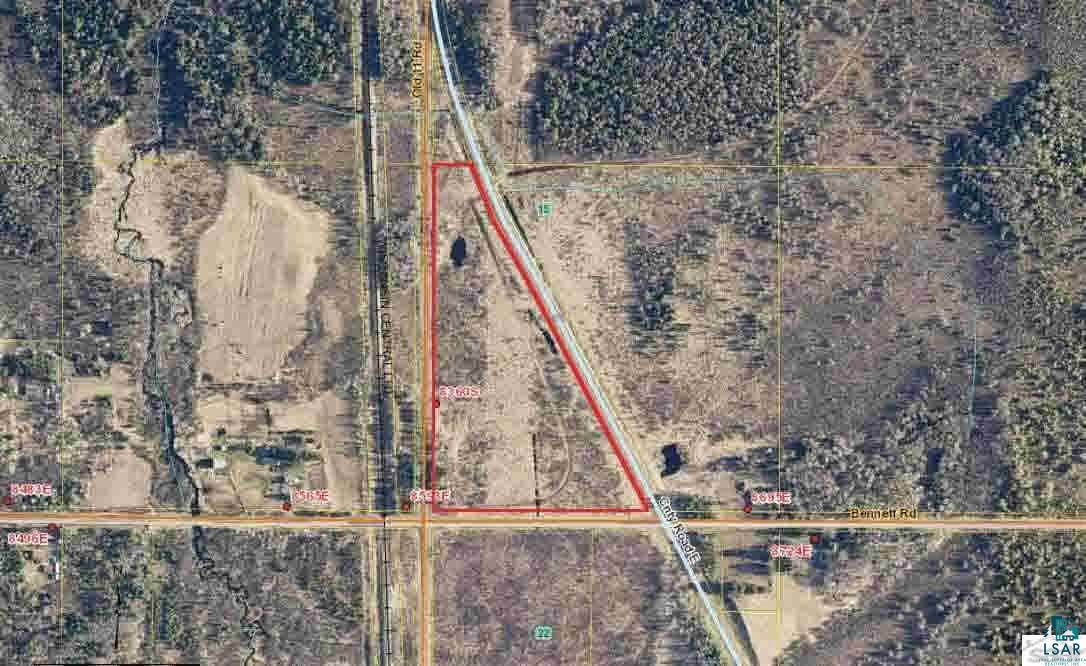 16 acres for sale in Bennett tucked between Old 11 Rd, County Rd E, and Bennett Rd. Not far off of Highway 53, with convenient access to Superior or Solon Springs. Lots of potential with this parcel. Drive by or walk the land today!