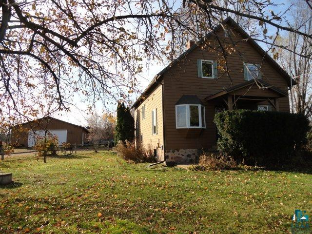 This property is the perfect location for the person who wants to live out of town but town is not that far away. Located between Ashland and Iron River and the gateway to numerous inland lakes and thousands of acres of public land to enjoy all types of activities. Situated on 5 scenic acres, this 3 bedroom, 1 full bath home has that older farm house appeal with all the updates. All the work has been done. Newer metal roof, newer holding tanks, mostly all newer Anderson windows, newer electric ( 200 amp. ), newer furnace and hot water heater, etc. Another outstanding feature is the newer 30x40 garage big enough for storing all the toys. Relax on the deck under shady trees and listen to the trickle from the tranquil small creek that flows on the property and enjoy life.