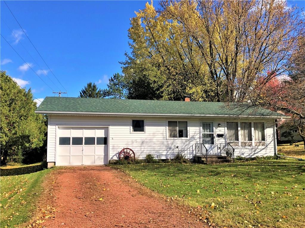 2 BR, 1 BA single-level home with a 1-car att garage and view of Elk Lake! This quaint home offers an appealing layout, kitchen w/ snack bar & dining area, living room w/ lookout window, large bedrooms & full basement w/ bonus shower stall. Forced air furnace installed in 2011. Home to be sold as is w/ some personal property left at closing. Close to downtown Phillips w/ direct access to ATV & snowmobile trails, abundant recreation nearby including several lakes & Chequamegon National Forest.