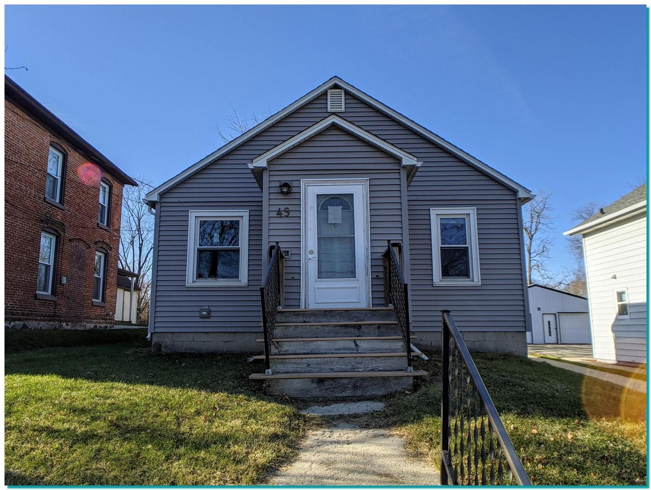Low maintenance ranch style home. Could be a great starter home or income property. Home has 2 bedrooms and 1 full bath with a nice attic area for storage. Full basement and rear deck with dog run in the back. Extra deep lot with room for a possible garage addition.