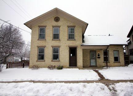 Spacious 2 Story with 2 car garage and fenced in yard.  Main floor features a formal dining area, large living room with bonus room, or add a door and you have another bedroom! First floor laundry off the dining room for your convenience and half bath for your guests.  Need more bedrooms?  There is plenty of possibility with an extra walk thru bedroom and finished attic space perfect for a play room or storage. Seller has completed some recent cosmetic updates including drywall repair, some new paint, and some new carpet.