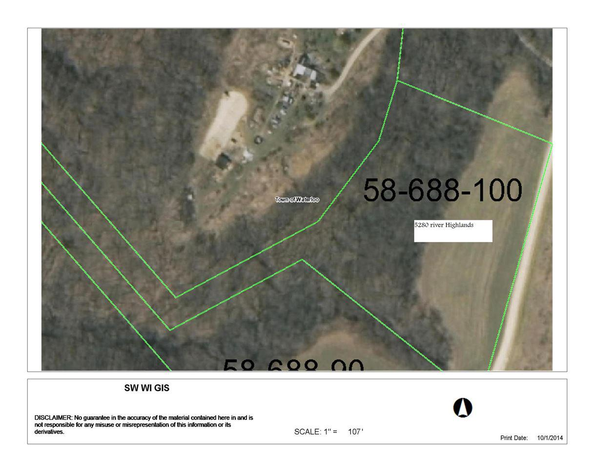 Take a look at this beautiful Mississippi River neighborhood and consider the possibilities. Lot 13, River Highland Subdivision with covenants. Scenic setting to build your dream home or weekend retreat. Located along the bluffs of the Mississippi River. Electric nearby. Private road maintenance association fee is approximately $100 per year. Between Cassville and Potosi. A great value for you...call today.
