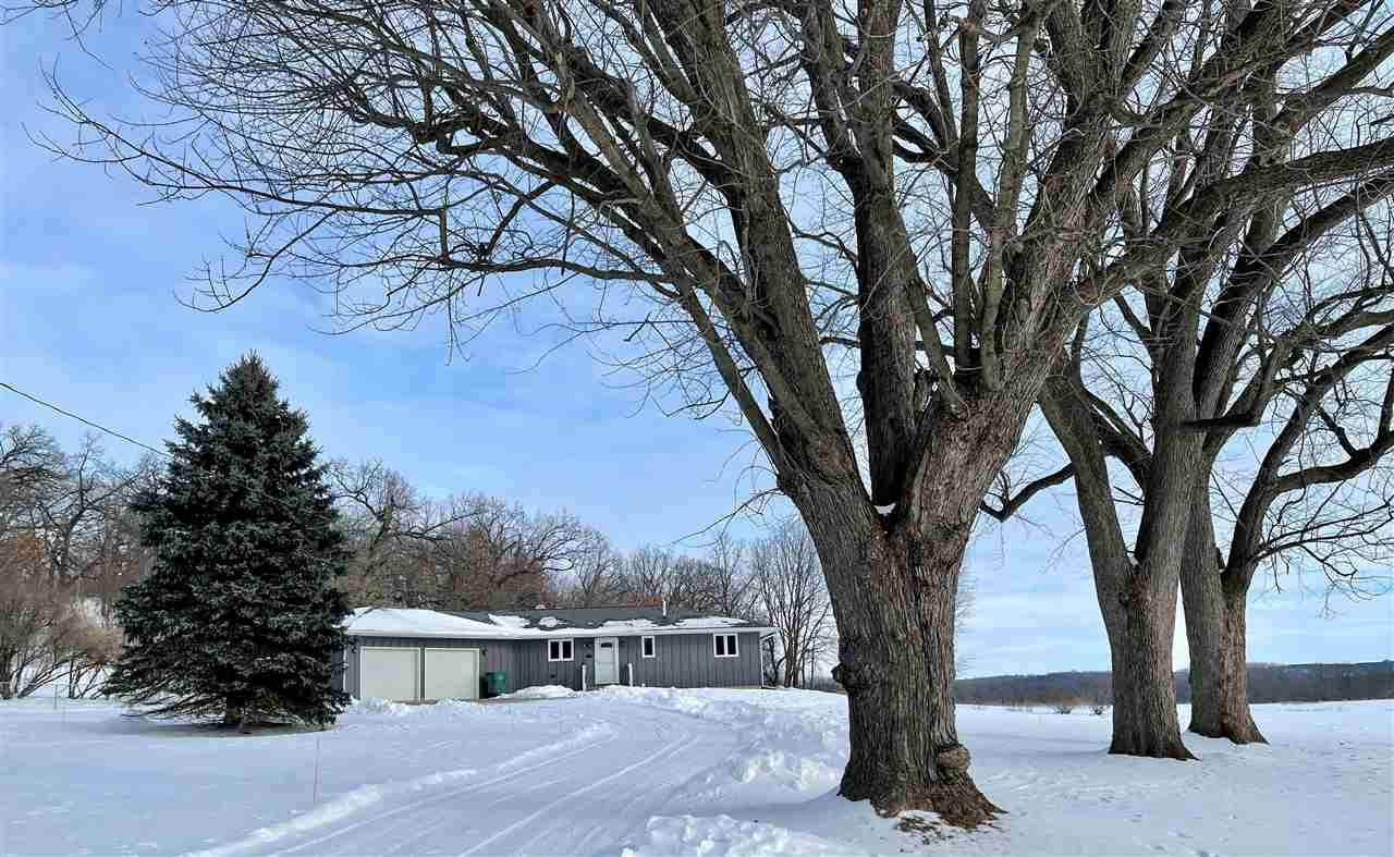 Look no further for your 3 bedroom ranch out in the country! Beautiful layout inside with a nice size deck outside looking at your yard, woods, and farmland around you. The kitchen has updated appliances along with 2 sets of patio doors in the living area to enjoy your view. Mature trees around you and set back from the road for privacy!