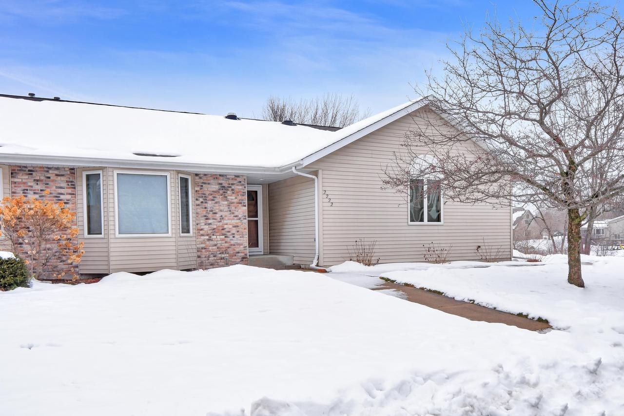 What a great place to call home right next to a small lake/pond and a walking trail around it.  It is a Great setting with nice open space.  This condo is a Super clean 2 bedroom Ranch unit.  Features include Knock down finish throughout, and nicely appointed woodwork, and almost new appliances.  The great room just off the kitchen has cathedral ceilings, a gas fireplace, and patio doors off the side.  Sky lights and good sized windows keep things feeling bright.  All the modern day conveniences right where you need them.  This could be the one so you better take a look!
