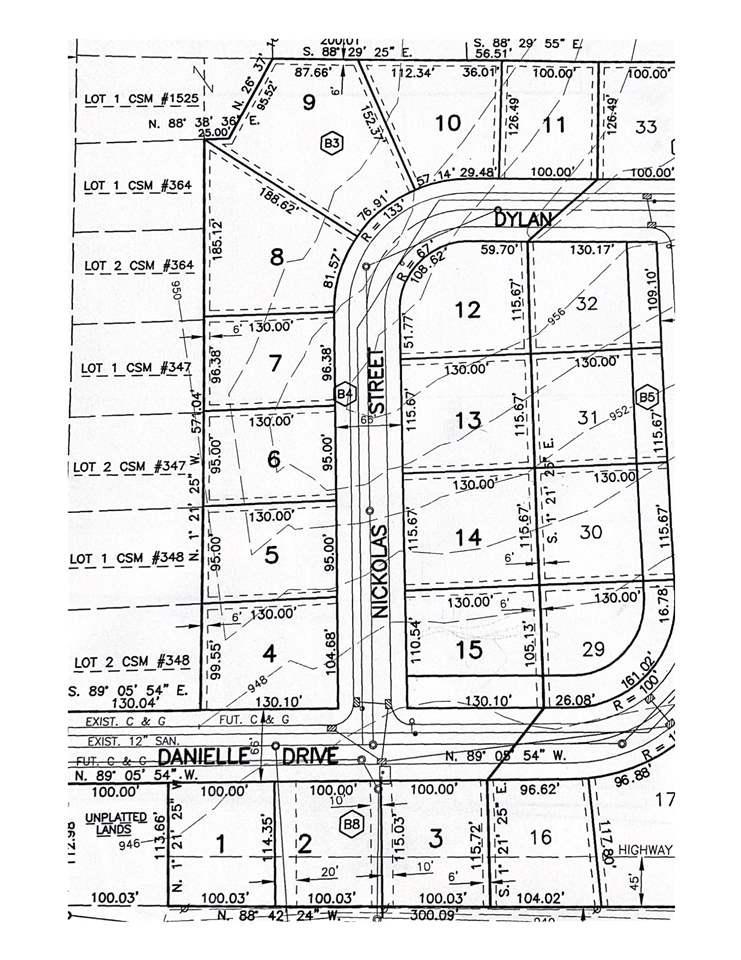 DYLAN STREET STREET, RANDOLPH, WI 53956
